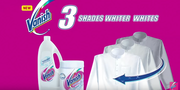 3 Shades Whiter Whites Vanish Oxi Action For White Clothes